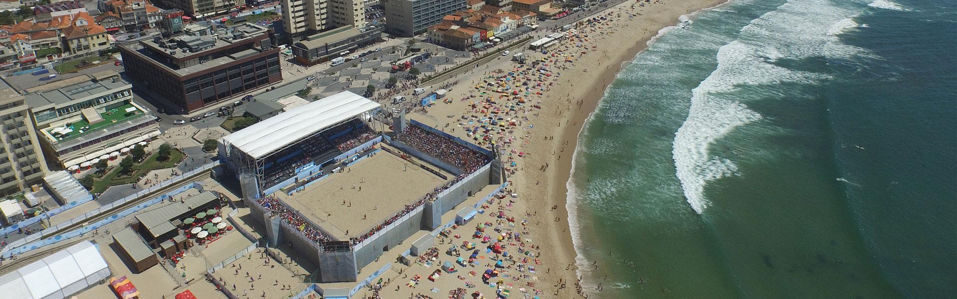Porto Canal - Mundial de Futebol de Praia 2015