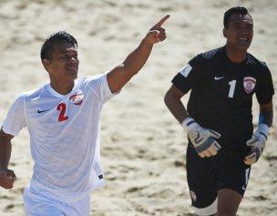 Taiti garante lugar na final após vencer Itália nas grandes penalidades