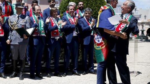 Marcelo recebeu felicitações de rei de Espanha e presidente da Alemanha