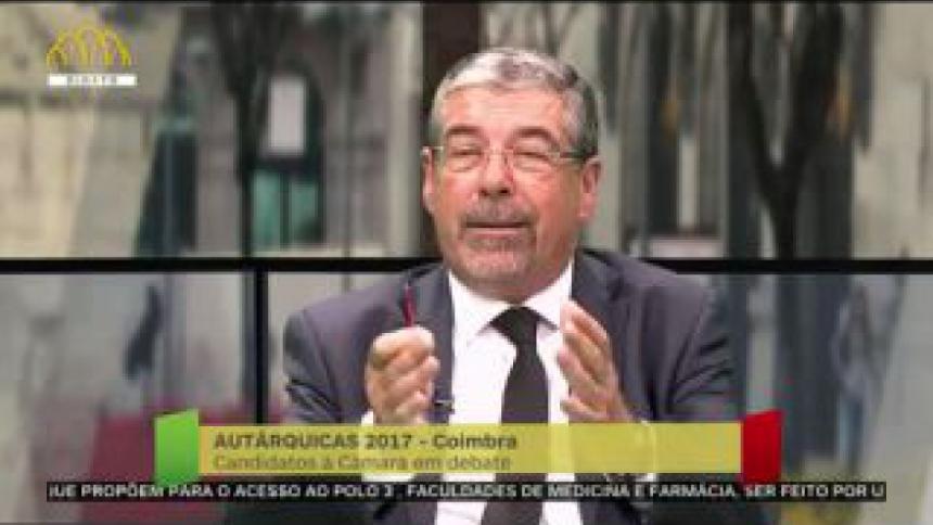"""Manuel Machado defende o seu mandato e afirma que """"Coimbra está muito melhor"""""""