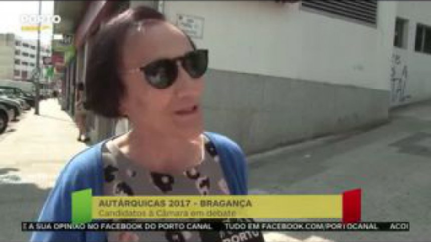 Onde estão as pessoas em Bragança?
