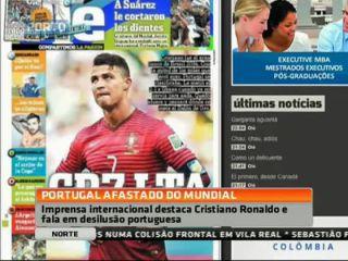 Imprensa internacional arrasa selecção portuguesa