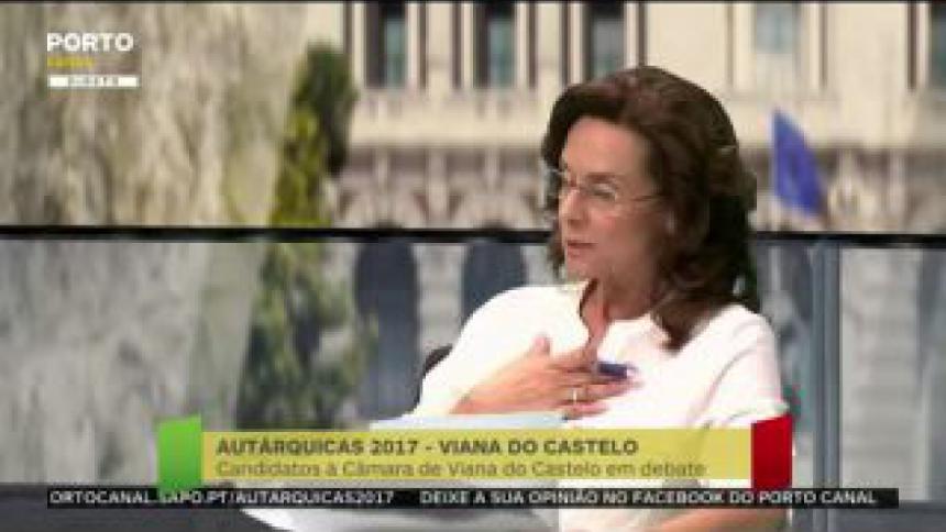 Ilda Araújo Novo critica obras na praia Norte e apela à atratividade na cidade de Viana