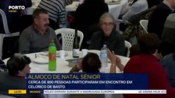 """""""Celorico a Mexer"""" deu jantar de Natal para centenas de pessoas"""