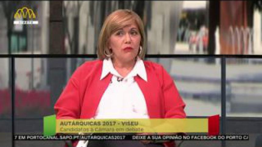 """Lúcia Silva afirma que Viseu é uma cidade que proporciona qualidade de vida mas não é suficiente para """"alavancar"""" o crescimento económico"""