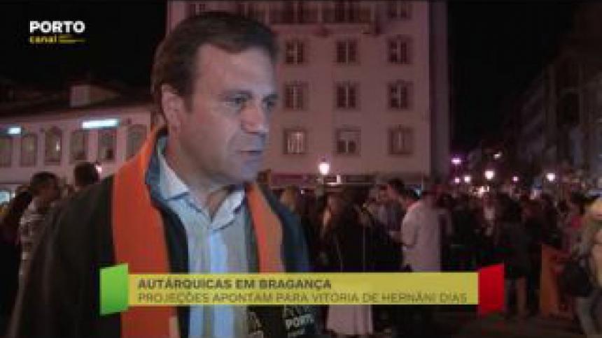 """Hernâni Dias fala sobre o balanço positivo dos resultados eleitorais e que """"tiveram uma votação expressiva"""" onde os bragantinos renovaram a confiança no partido Social Democrata."""