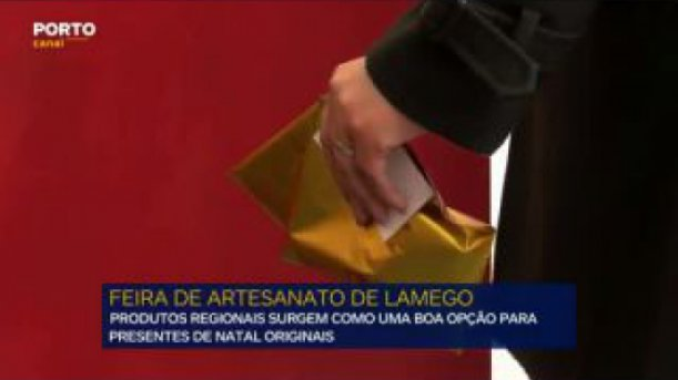Feira de Artesanato de Lamego quer ser opção para a compra de prendas de Natal