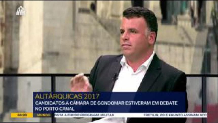 Cinco candidatos à Câmara de Gondomar debateram desde a dívida da autarquia até ao alargamento das linhas de metro