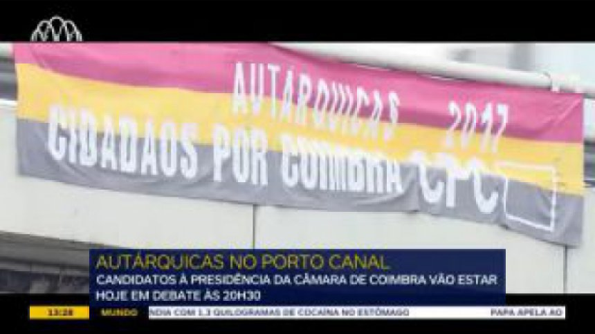 Coimbra: o lançamento do debate autárquico 2017