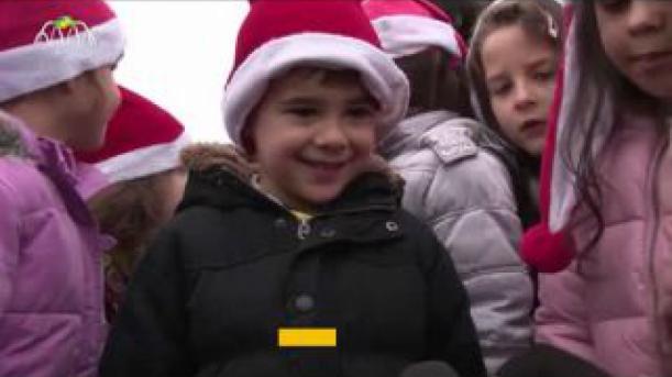 Pai Natal arruma o trenó e vai de avião para Mirandela
