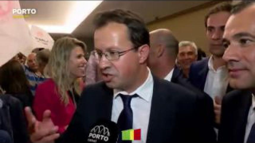 Alexandre Almeida mostra-se muito feliz pelo PS conquistar pela primeira vez a Câmara Municipal de Paredes