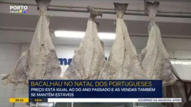 Bacalhau continua a ser rei à mesa dos portugueses no Natal