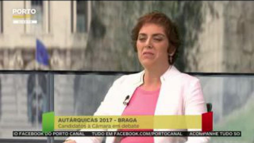 """Paula Nogueira critica o """"cenário bastante cor-de-rosa"""" de Ricardo Rio"""
