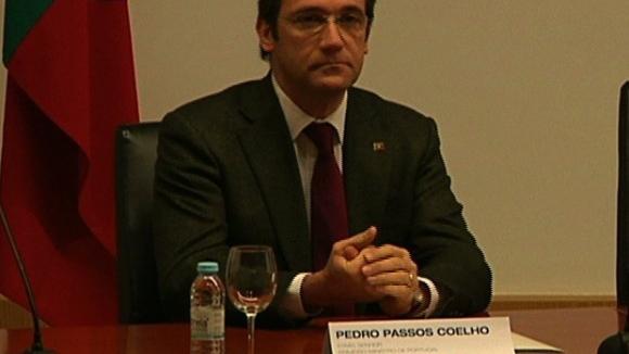 """Passos Coelho escusa-se a comentar declarações de Soares porque tem """"enorme respeito"""""""