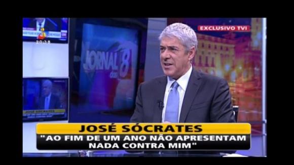 Sócrates lamenta a falta de apoio do PS