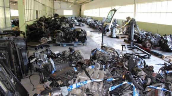 Recuperados milhares de componentes de veículos furtados na Trofa e em Vila do Conde