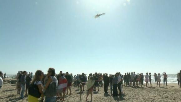Dois jovens continuam desaparecidos na praia de Espinho
