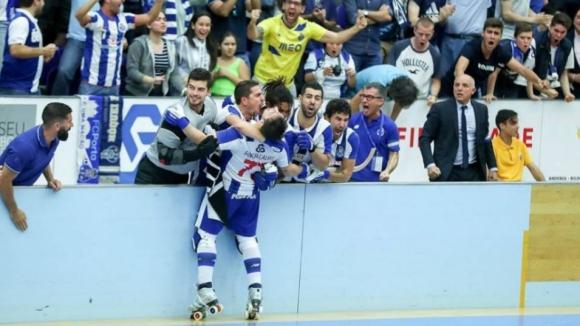 FC Porto campeão nacional de hóquei em patins pela 22.ª vez
