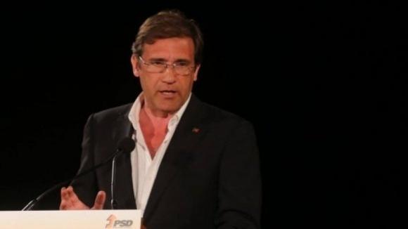 Passos Coelho cancela todas as iniciativas partidárias previstas para esta semana