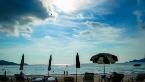 Chegada do verão com termómetros a descer — Algarve