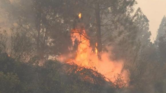 Estrada Nacional 2 reaberta mas incêndio em Chaves continua com duas frentes ativas