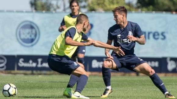 FC Porto inicia preparação do jogo com o Tondela sem Soares e Rafa