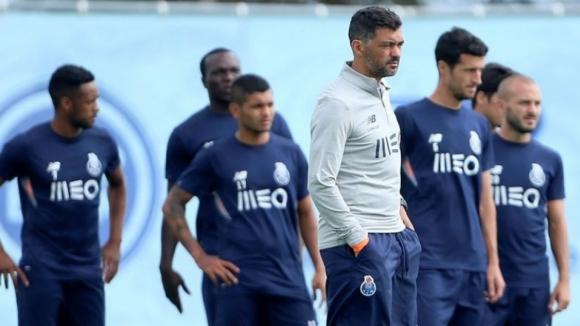 Soares e Rafa continuam ausentes dos treinos do FC Porto