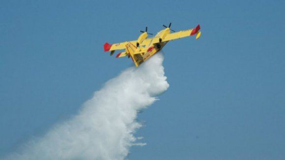 Acidente com avião que combatia chamas em Abrantes, sem feridos a registar