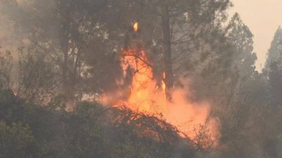 Incêndios em Cinfães e Póvoa do Lanhoso continuam ativos