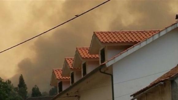Ativado Plano Municipal de Emergência de Miranda do Corvo, casas em risco