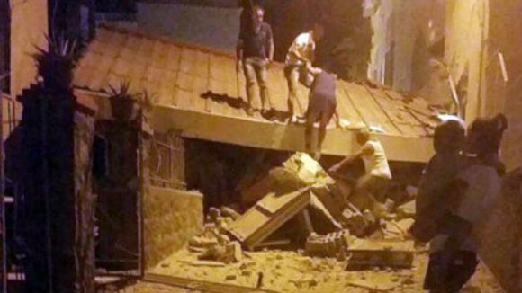 Sismo de magnitude 4 mata uma mulher idosa em Ischia, na Itália