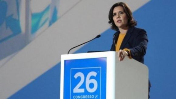 Direção de Cristas eleita com menos de 90% e perde três lugares no Conselho Nacional