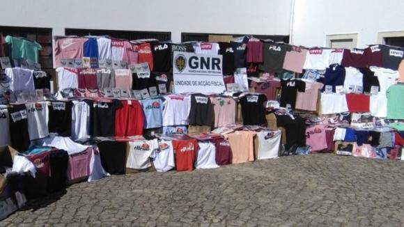 GNR apreende em Santo Tirso material contrafeito no valor de 405 mil euros