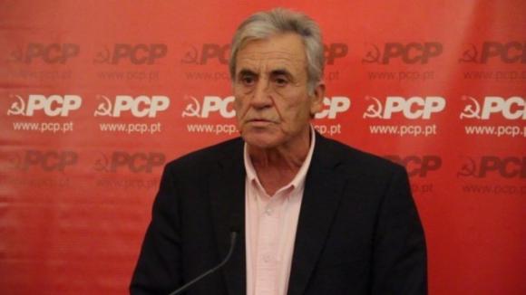 """""""Não mudamos nem uma palavra, nem uma letra"""", avisa Jerónimo de Sousa sobre o Orçamento do Estado para 2019"""