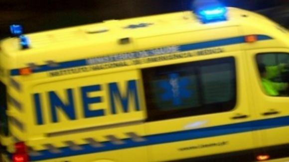 Dois mortos em colisão frontal de duas viaturas em Tábua, Coimbra