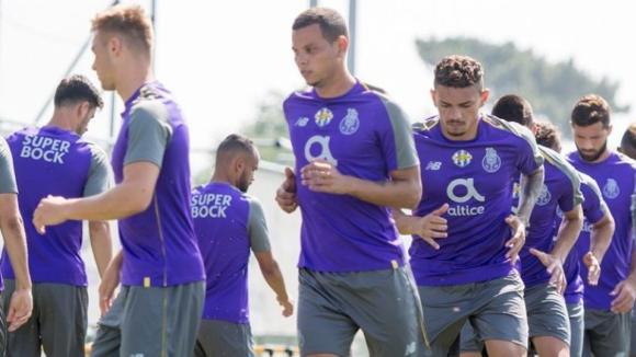 FC Porto vence o Varzim por 8-0 em treino conjunto