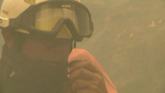 Mais de 1.800 homens a combater 39 incêndios pelas 17h00