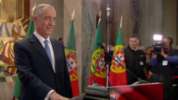"""Presidente da República agradece """"dedicação"""" em Monchique e lembra que época de fogos não terminou"""