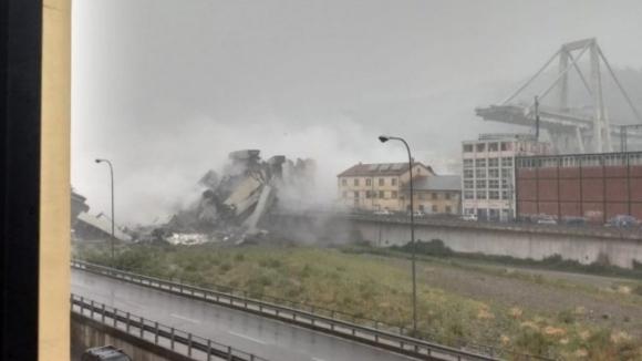 Balanço de mortos na queda da ponte em Itália sobe para 38