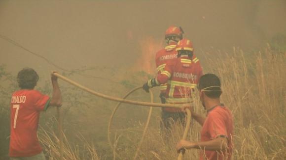 """Risco de incêndios vai continuar """"muito elevado"""" nos próximos dias"""