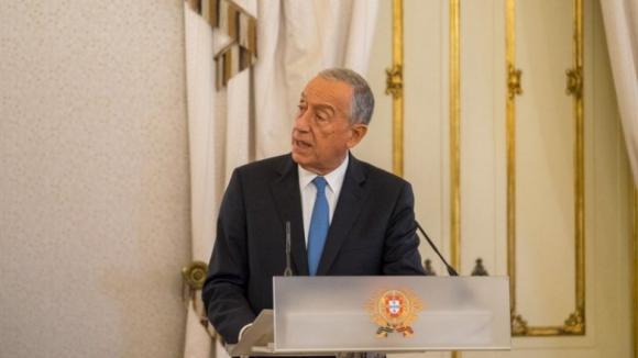 Marcelo deixa mensagens sobre renovação dos mandatos e Forças Armadas