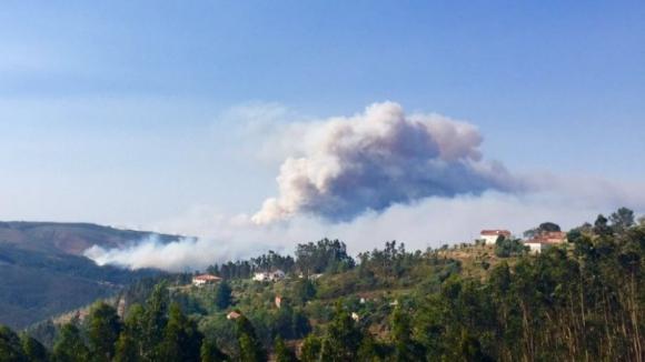 Quase 550 fogos desde 01 de outubro, registo sem paralelo na última década