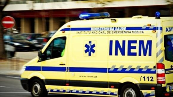 Despiste corta EN9 em Mafra e faz dois feridos