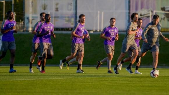FC Porto regressa ao trabalho sem 11 internacionais