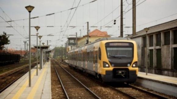 Circulação ferroviária suspensa em duas ligações à Figueira da Foz devido ao mau tempo