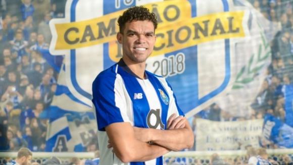 Pepe regressa ao FC Porto