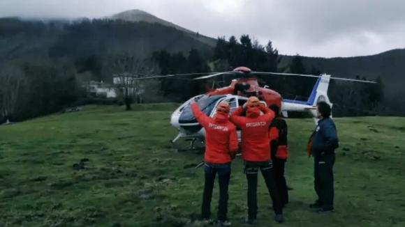 Pelo menos um morto em queda de avioneta que saiu de Tires e caiu no País Basco