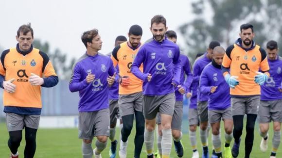 Avançados Marega, Aboubakar e Marius continuam de baixa no FC Porto