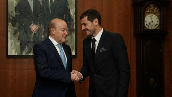 """""""O Iker Casillas é uma figura mundial e também já é uma figura do FC Porto"""""""