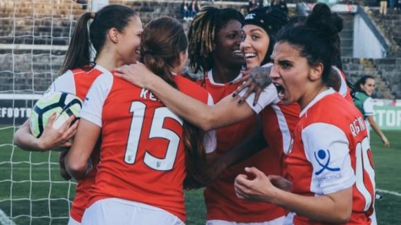 Sporting de Braga sagra-se pela primeira vez campeão feminino de futebol